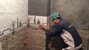 Installing Ceramic Wall Tile How To Tile Shower Wall Cutting And Installing Wall Tile