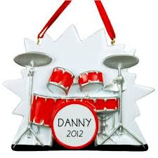 drums ornaments gifts for drummers