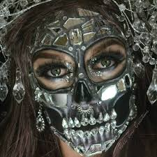 Halloween Makeup Me by Mirror Gem Skull Halloween Makeup Facepaint Halloween And Spfx