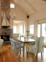 coastal dining room furniture tour sarah u0027s summer house hgtv ceilings and beams