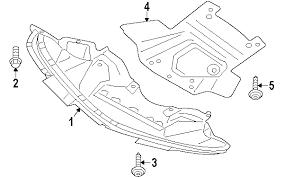 dodge charger oem parts parts com dodge underbody shield partnumber 4806074ai