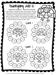 thanksgiving graphing no prep math game from thanksgiving math games first grade by