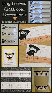 pug themed classroom decorations boy mama teacher mama