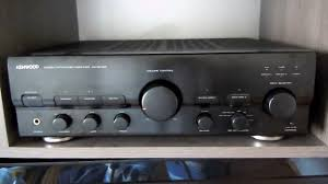 kenwood ka 5040r amplifier test youtube