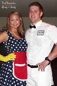 Halloween Costumes Diy Housewife U0026 Milk Man Costume Housemoms