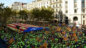 goodbye spain u0027 huge rally for catalan independence before vote