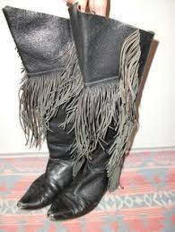 womens brown cowboy boots size 9 ariat fringe 13629 lined leather s cowboy