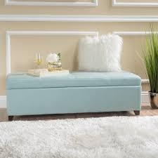 Storage Bench Fabric London Fabric Storage Bench By Christopher Knight Home Free