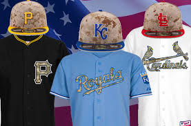 2014 memorial day mlb camouflage uniforms baseball