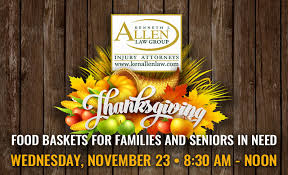 thanksgiving food basket giveaway