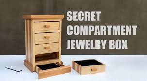 Bedroom Furniture With Hidden Compartments Secret Compartment Jewelry Box Youtube