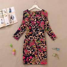 vestidos 2014 winter dress vintage style women dress long sleeve