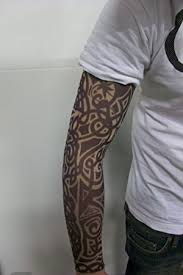 fake tattoo sleeve tribal design t1 amazon co uk kitchen u0026 home