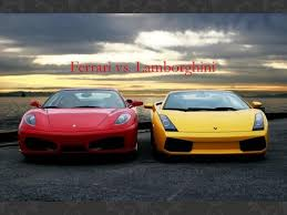 ferraris and lamborghinis lamborghini lancia maserati and pagani ppt