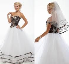 camo bridesmaid dresses cheap discount 2016 new arrival camo wedding dresses a line