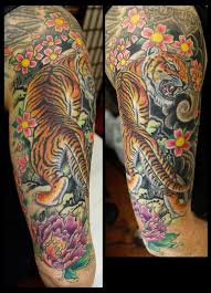 traditional japanese style tiger by ambrose at arrows and