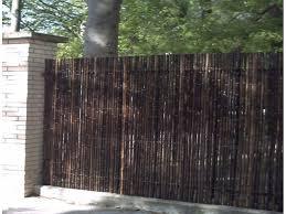 brise vue cuisine jardin brise vue jardin cuisine cloture bambou et palissade