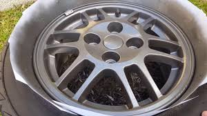 how to paint your car wheels duplicolor wheel paint youtube