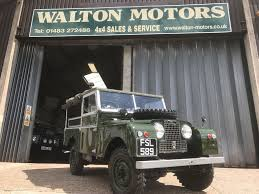 land rover series 1 used land rover for sale walton motors