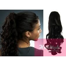 curly extensions clip in ponytail wrap braid hair extension 24 curly black
