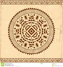 beautiful mexican ethnic ornament stock vector image 45604377