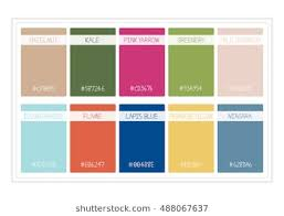 colours of the year 2017 color palette guide images stock photos vectors shutterstock