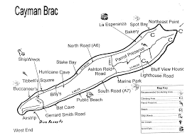 Map Of Cayman Islands Map Climbing On Cayman Brac