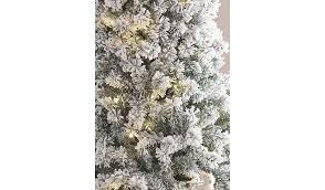 prelit christmas tree 7ft snowy pre lit christmas tree christmas shop george