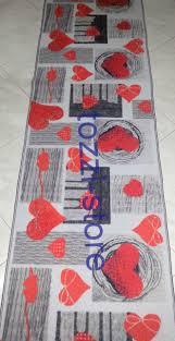 tappeto guida tappeto cuori passatoia cucina 57 x 180 copia copia