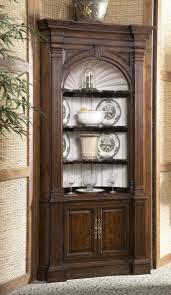 curio cabinet frightening corner kitchen curiobinet image