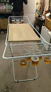 fold up beer pong table foldable beerpong table lifehacks