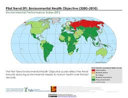 Map Performance Maps Environmental Performance Index And Pilot Trend