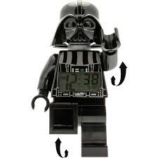 Lego Darth Vader Led Desk Lamp Lego Star Wars Darth Vader Minifigure Alarm Clock Big W