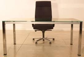 Chrome Office Desk Glass Office Desks Executive Glass Desks Solutions 4 Office