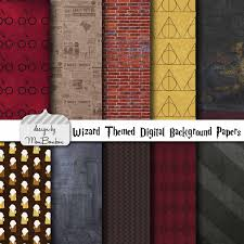 harry potter halloween background harry potter themed digital scrapbooking background papers