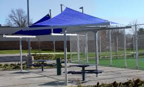Cantilever Awnings Shade For Hotels Aquatic Centers And Parks Waterloo Tent