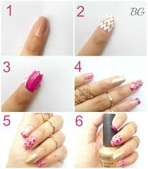 diy gold chevron nail design step by step nail art tutorial