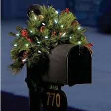 Mailbox Christmas Decorations by All Time Favorite Christmas Decors At Hammacher Schlemmer