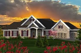 craftsman one story house plans sprawling craftsman ranch house plan 89922ah architectural
