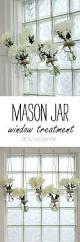 kitchen window decorating ideas mason jar window treatment mason jar crafts mason jar vases and
