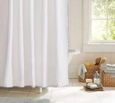 Pottery Barn Waffle Weave Shower Curtain Waffleweave Shower Curtain 72 X 72