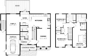 Two Storey Floor Plan Tucker Properties Ltd