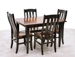 100 shaker dining room shaker dining chairs set of 4 black