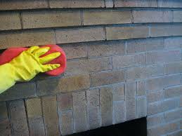 cleaning red brick fireplace we ended up doing two coats and
