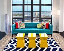 Best Contemporary Living Room Images On Pinterest - Bright colors living room