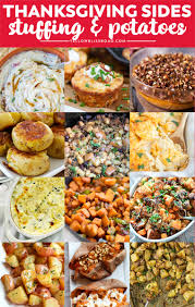 thanksgiving side dishes the ultimate list of 100 recipes