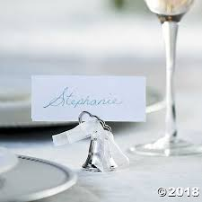 place card holders bell wedding place card holders