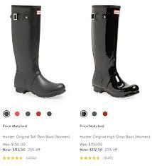 black friday boot deals hunter boots black friday deals u0026 cyber monday sales 2016