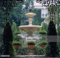 Ny Topiary - formal topiary garden iseli nursery usa stock photo getty images
