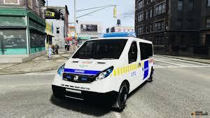 opel van vivaro hungarian police van for gta 4